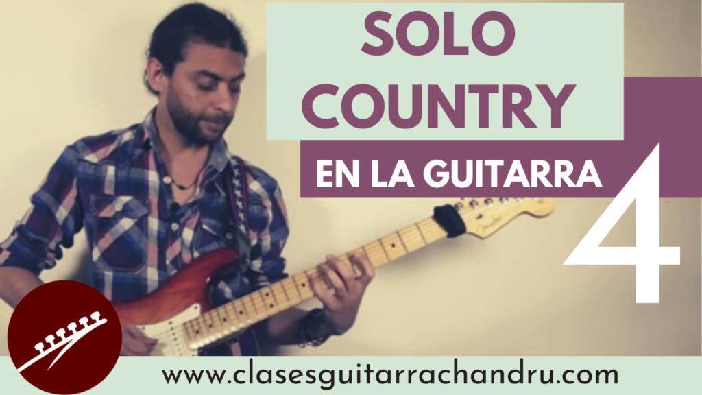 Country en la guitarra