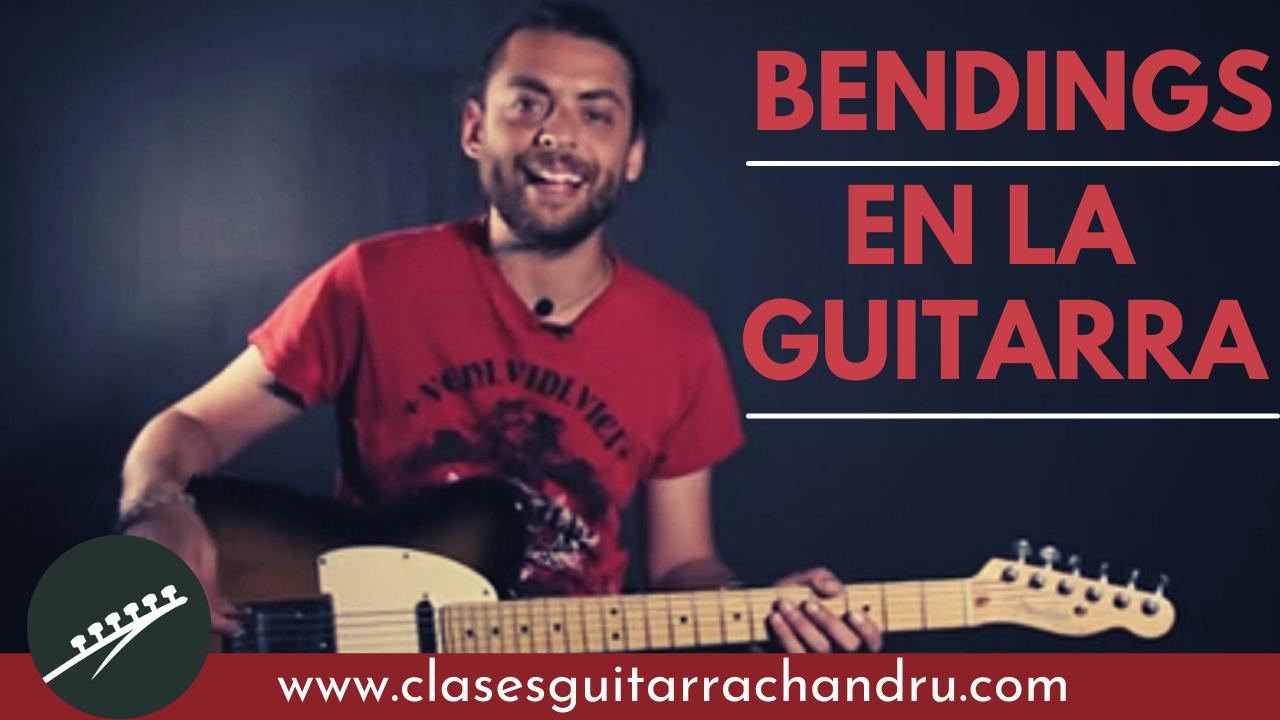 Bendings En La Guitarra