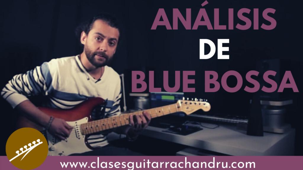 análisis musical blue bossa