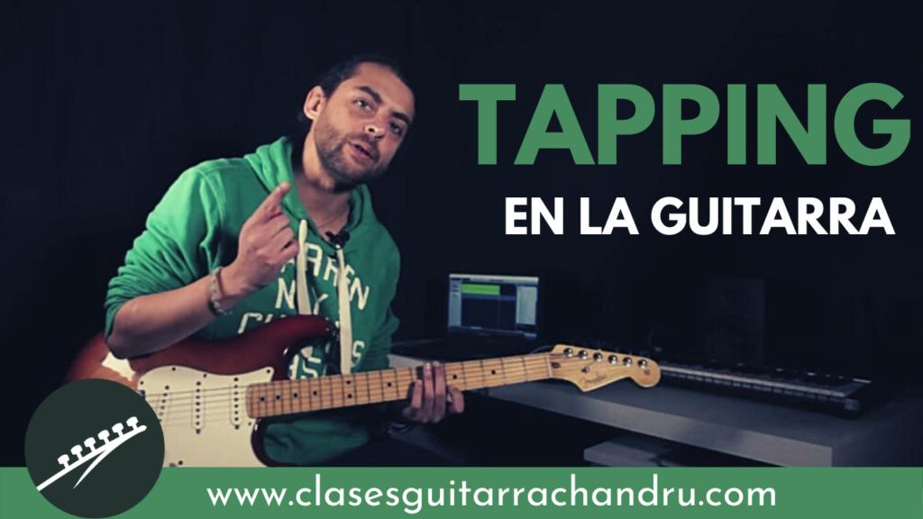 Tapping guitarra eléctrica
