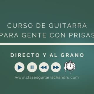 Curso de Guitarra Para Gente con Prisas
