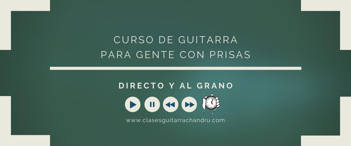 CURSO DE GUITARRA PARA GENTE CON PRISAS PORTADA WEB