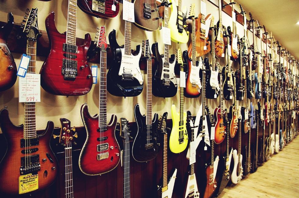 Cómo Seleccionar Tu Guitarra