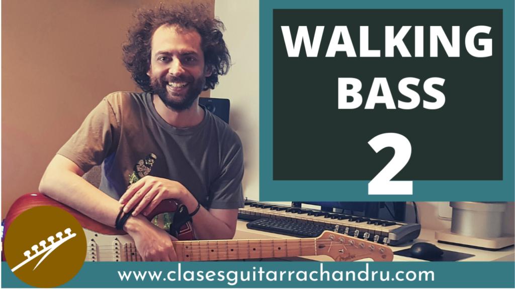Crear walking bass en la guitarra